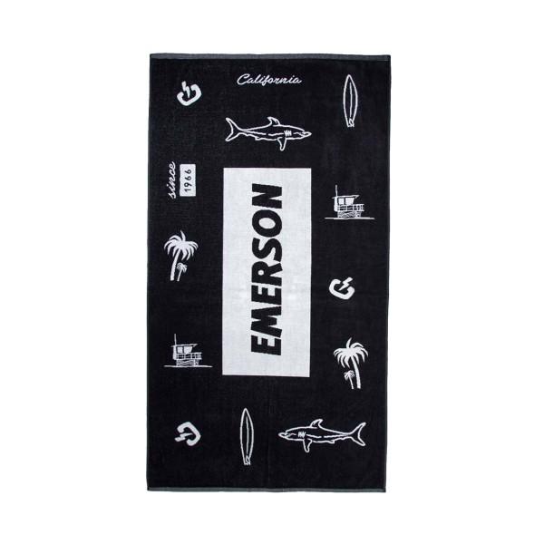 Emerson Logo Black - White