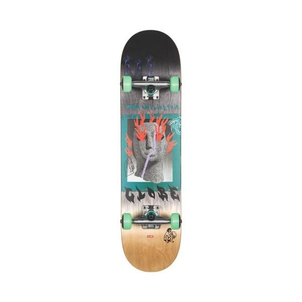 Globe Skateboard Complete G1 Firemaker Natural - Black