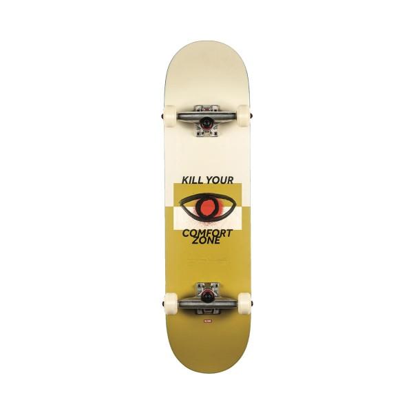 Globe Skateboard Complete G1 COMFORT ZONE Beige - Yellow