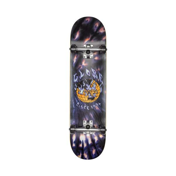 Globe Skateboard Complete G1 Ablaze Black Dye Black