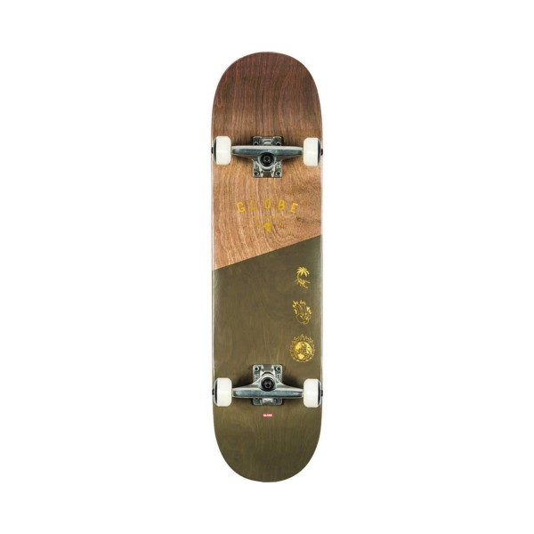 Globe Skateboard Complete G1 Insignia Dark Marple Green - Brown