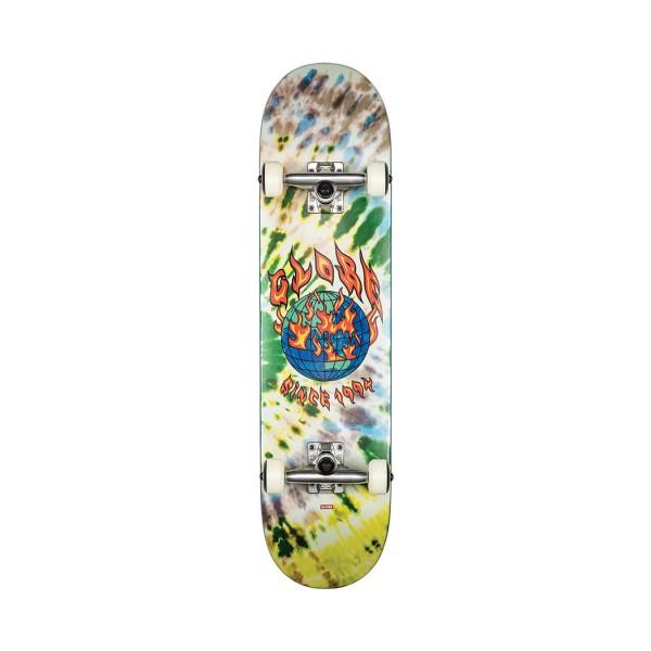 Globe Skateboard Complete G1 Ablaze Tie Dye Mutlicolor