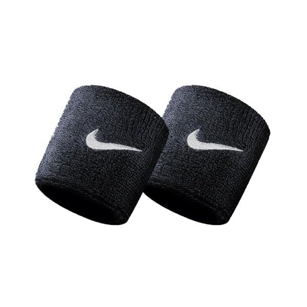 Nike Swoosh Tennis Wristband Black