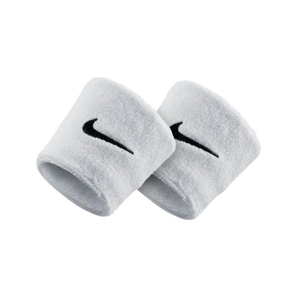 Nike Swoosh Tennis Wristband White