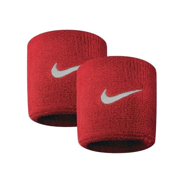 Nike Swoosh Tennis Wristband Red