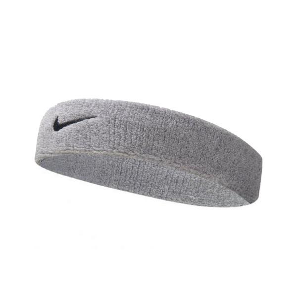 Nike Swoosh Tennis Headband Grey