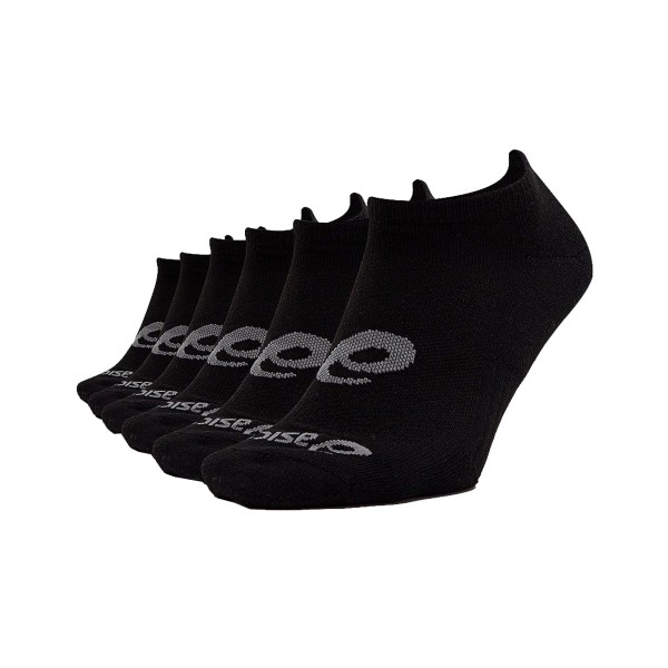 Asics Invisible 6 Pack Socks Black