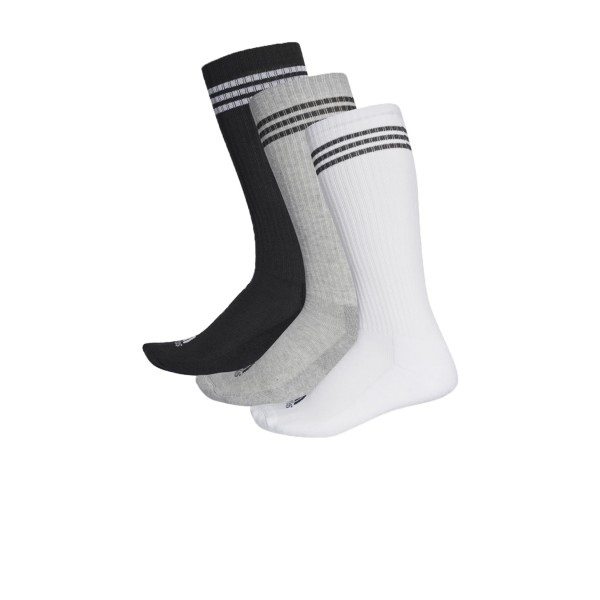 Adidas 3-Stripes Knee Socks 3 Pairs