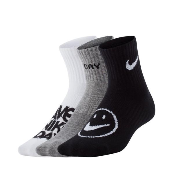 Nike Everyday Lightweight Angle Socks 3 Pair Mutlicolor