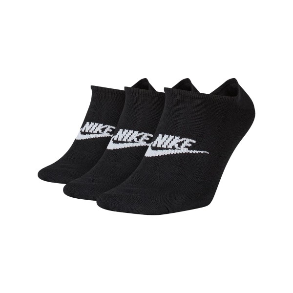 Nike Sportswear Everyday Essential No Show 3 Pairs Black