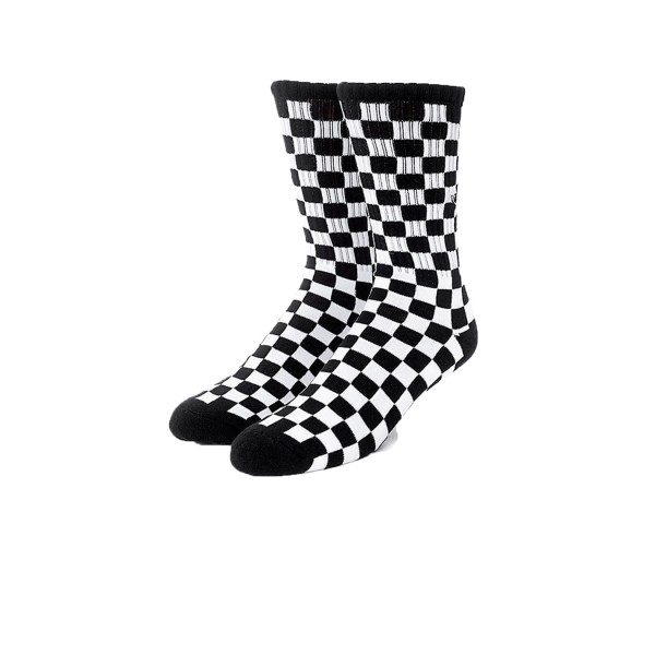 Vans Checkerboard II Crew (1 Pair) White - Black