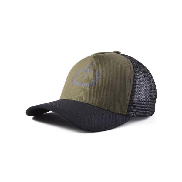 Emerson Trucker Cap Black - Olive
