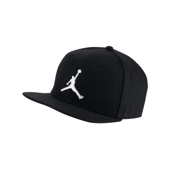 Jordan Pro Jumpman Snapback  Black