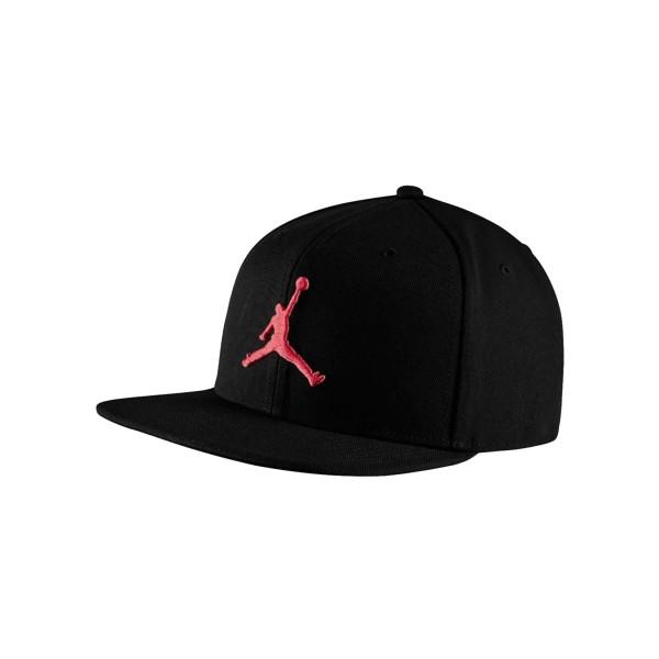 Jordan Pro Jumpman Snapback Hat Black