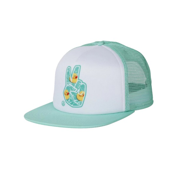Neff Peace Trucker White - Turquoise