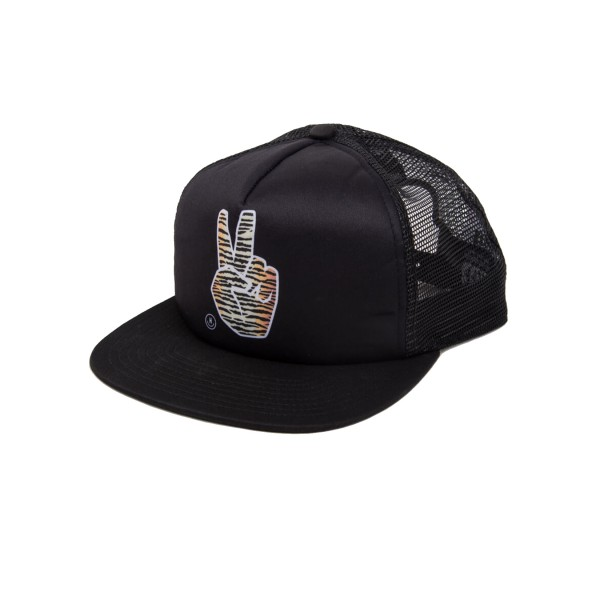 Neff Peace Trucker Black - Tiger
