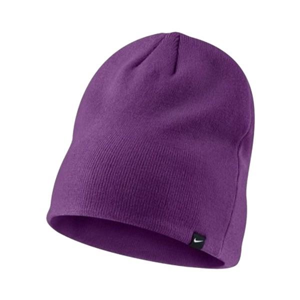 Nike Solid Knit Beanie Purple