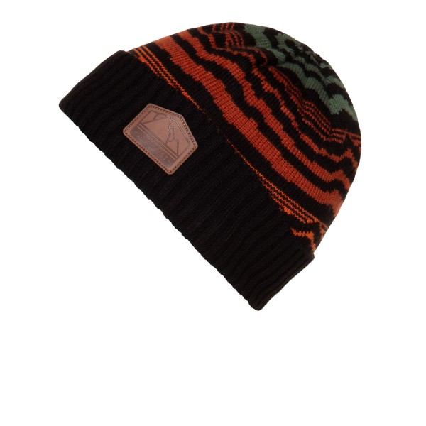 Protest Gratton Beanie Black - Orange