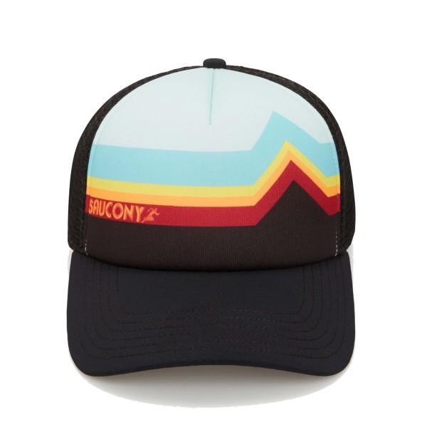 Saucony Foamie Trucker Hat Black