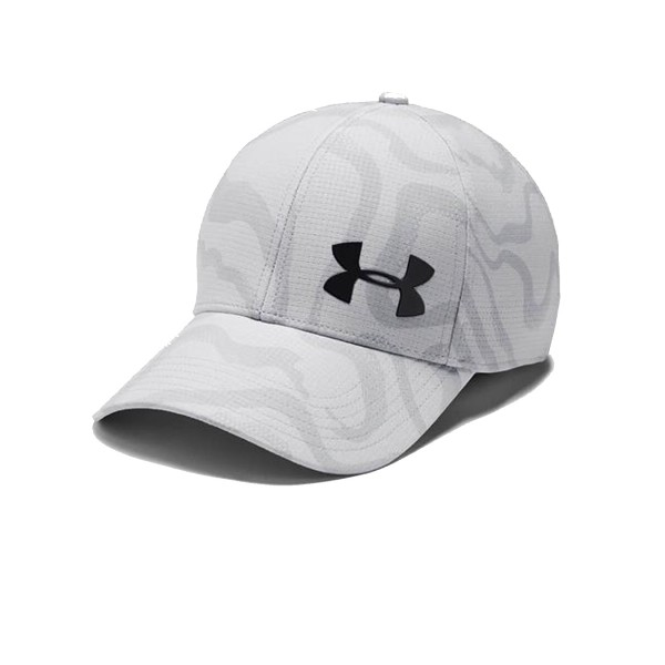 Under Armour Airvent Core Printed Hat Light Grey