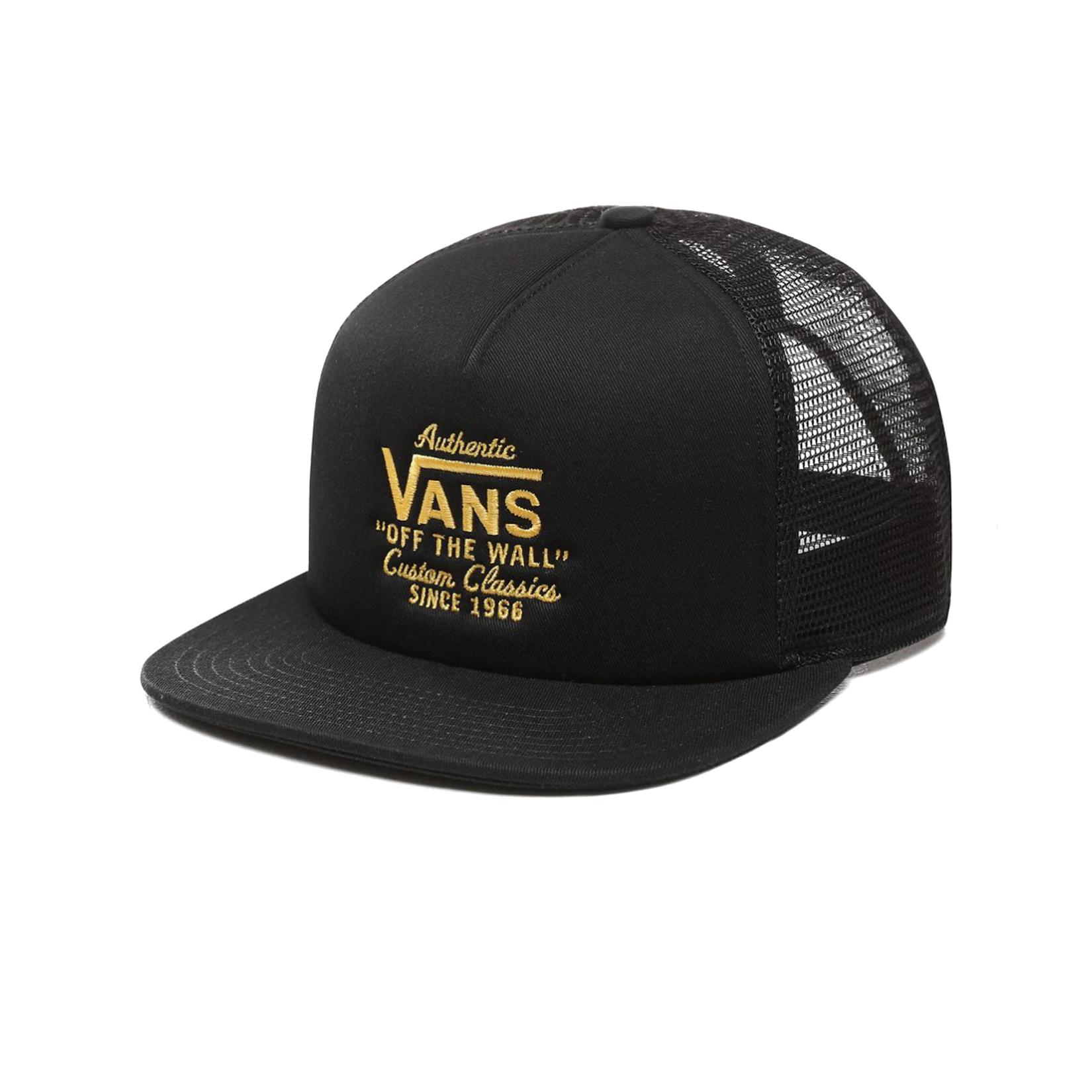 Vans Classic Galer Trucker Black - Gold