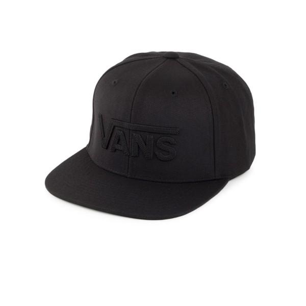 Vans Drop V II Snapback Black - Black