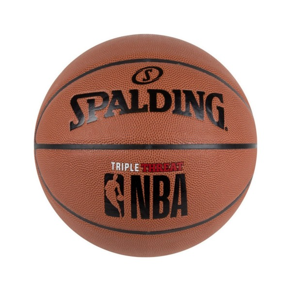Spalding NBA Triple Threat 7 Brown
