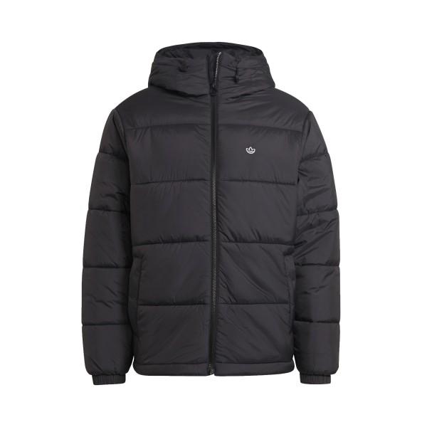 Adidas Originals Padded Hooded Puffer Ανδρικο Μπουφαν Μαυρο