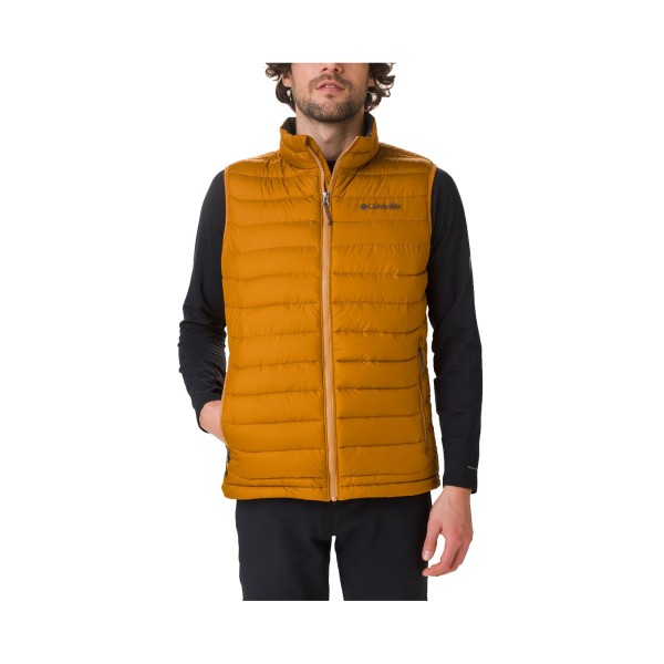 Columbia Powder Vest Burnished Amber