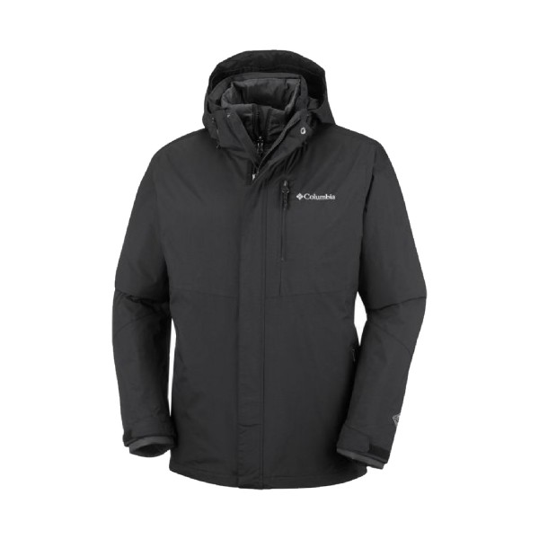Columbia Element Blocker II Interchange Jacket Black
