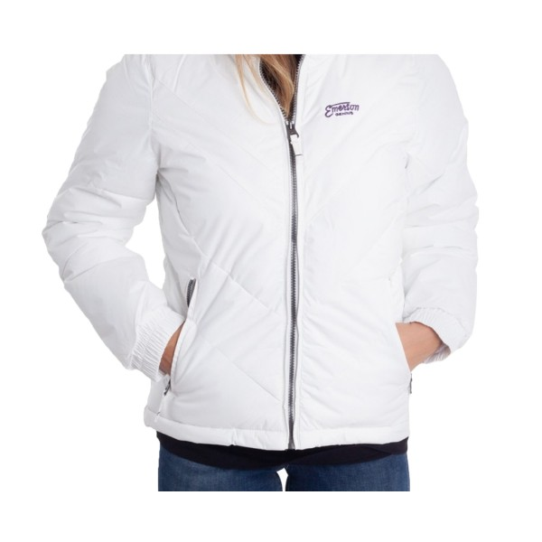 Emerson P.P. Down Jacket Roll-in Hood W White