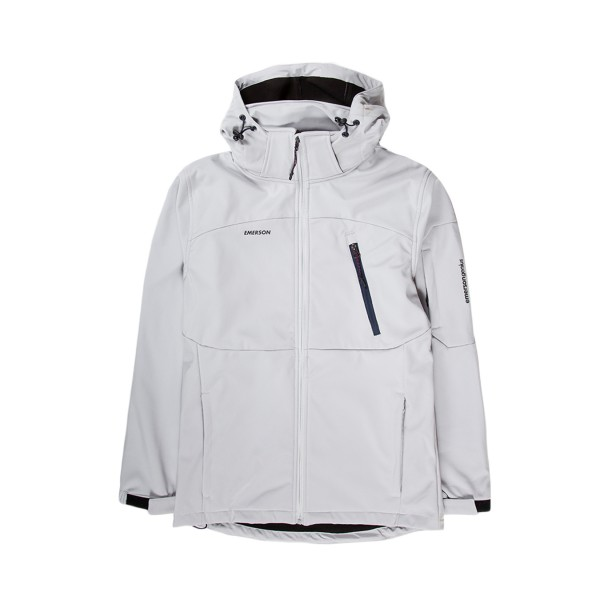 Emerson Soft Shell Jacket Ice Grey