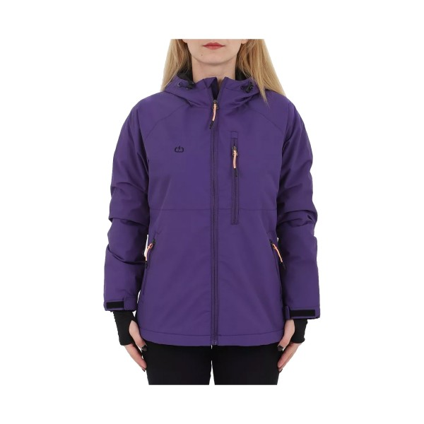 Emerson Soft Shell Jacket W Purple