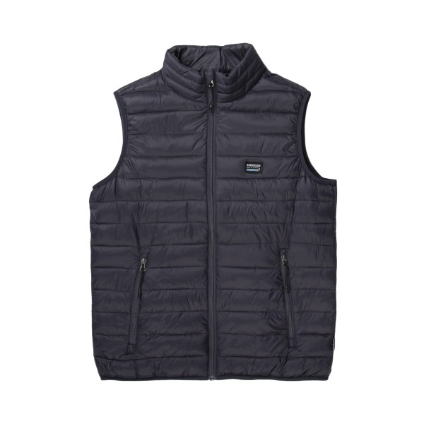 Emerson Lightweight Puffer Vest M Blue