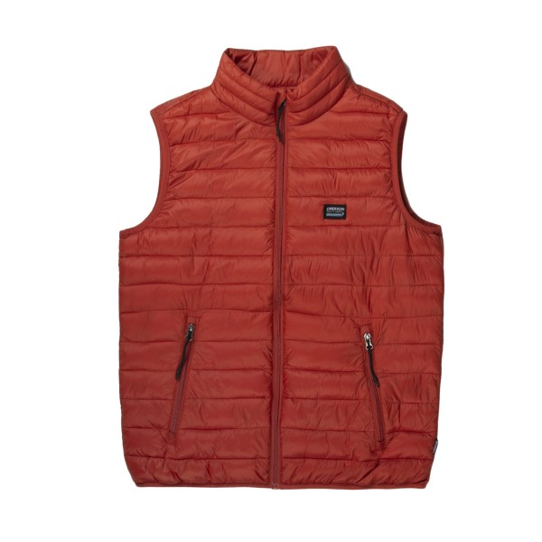 Emerson Lightweight Puffer Vest M Orange