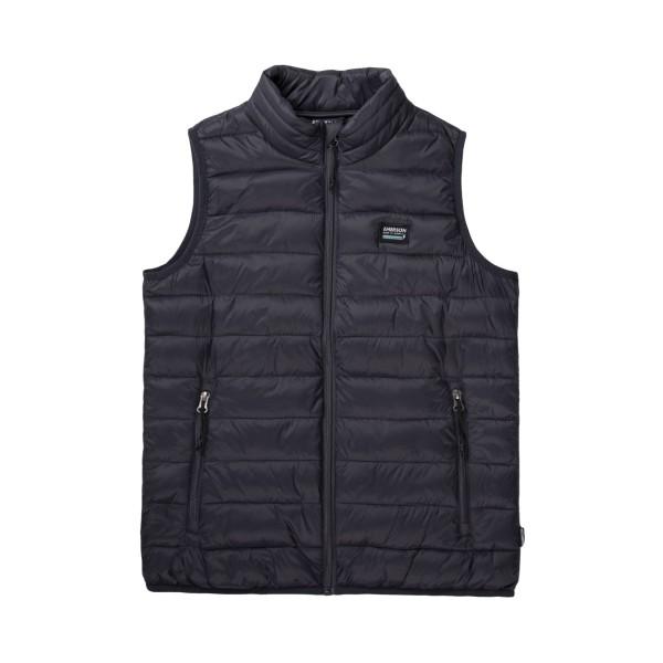 Emerson Lightweight Puffer Vest W Black