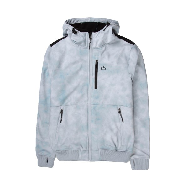 Emerson Soft Shell Ribbed Jacket Ice White
