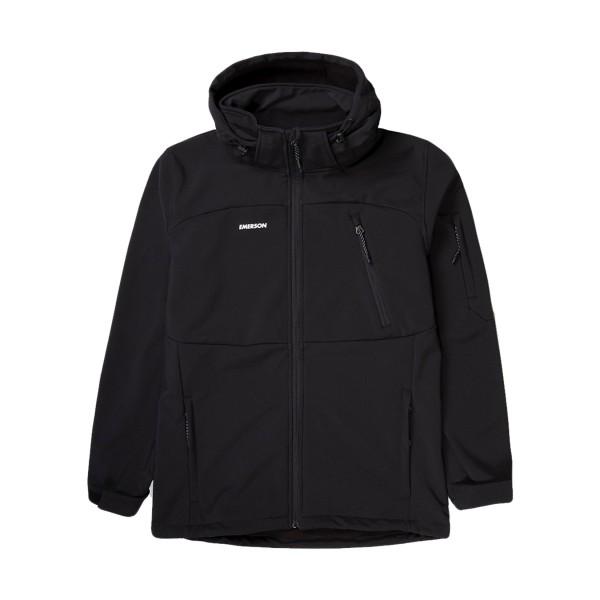 Emerson Soft Shell Jacket Black