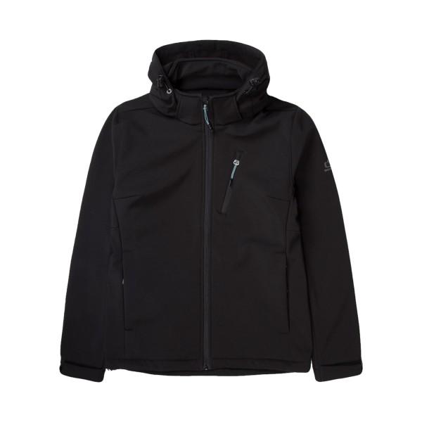 Emerson Soft Shell Jacket W Black