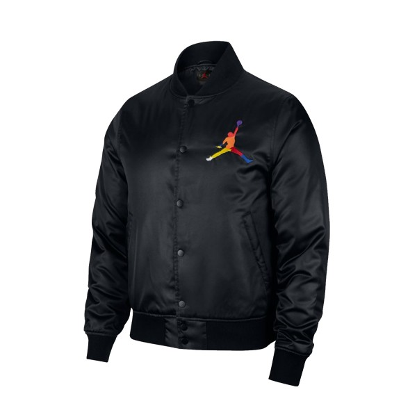 Jordan Dna Satin Jacket Black