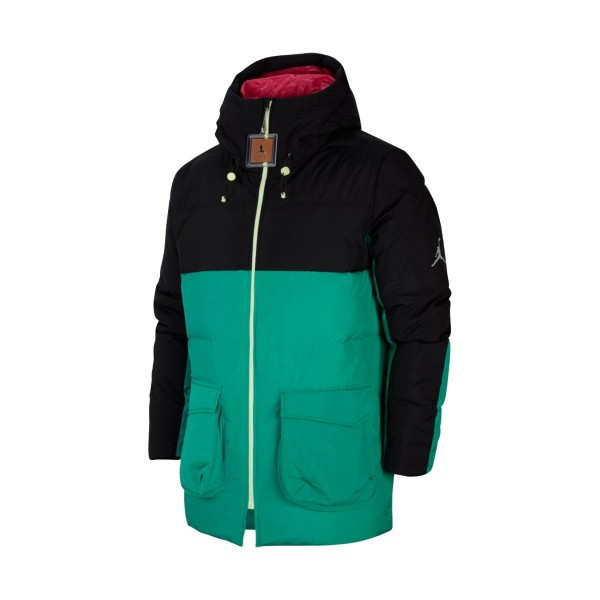Jordan Off Court Parka Black - Green