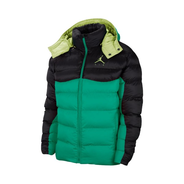 Jordan Jumpman Air Puffer Jacket Black - Green