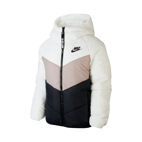 Nike Sportswear Windrunner Synthetic-Fill White - Beige - Black