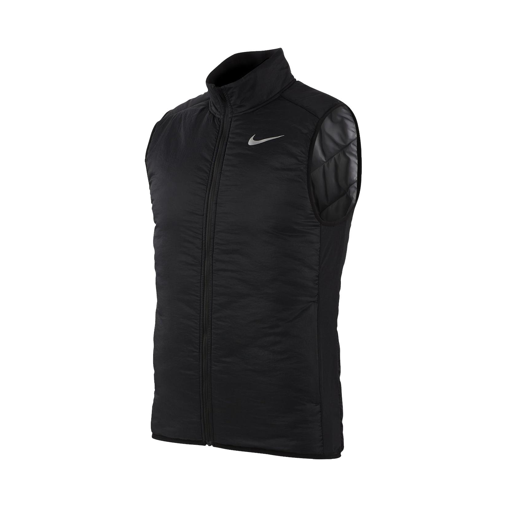 Nike AeroLayer Running Vest Black
