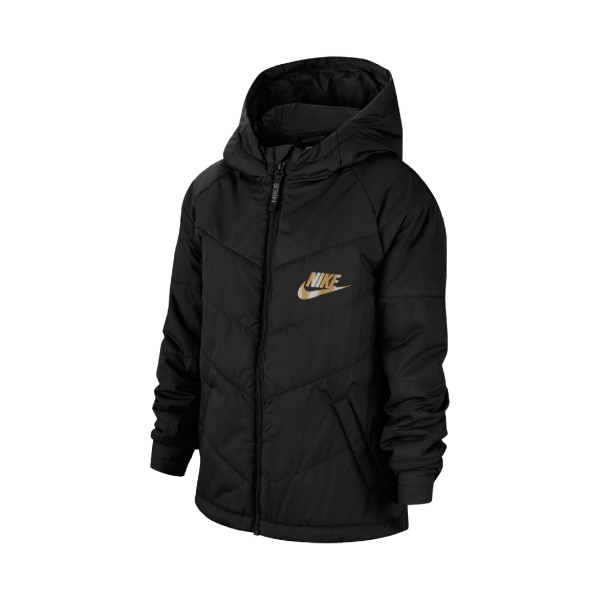 Nike Sportswear Jacket Black - Gold
