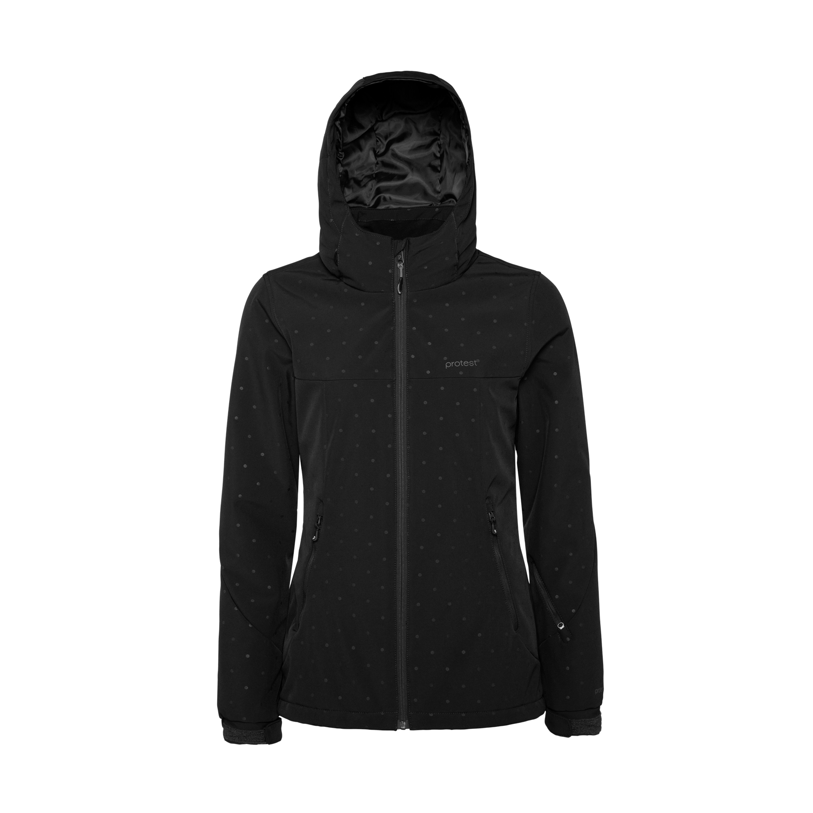 Protest Batida 19 Snowjacket SoftShell Black