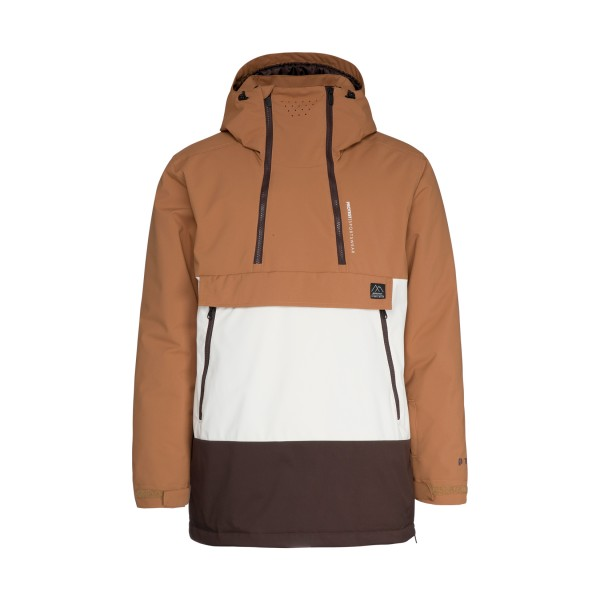Protest Backflip Anorak Brown - White