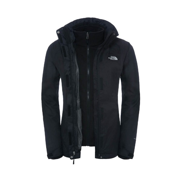 The North Face Evolve II Triclimate W Jacket Black
