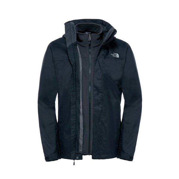 The North Face Quest Evolve II Triclimate Black