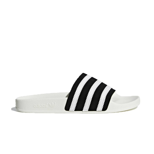 Adidas Originals Adilette White - Black
